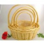 GIANT WILLOW S/4 ROUND BASKETS X11321